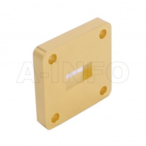 51WSPA14_Cu_PA WR51 Wavelength 1/4 Spacer(Shim) 15-22GHz with Rectangular Waveguide Interfaces