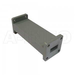 62LB-LP-12400-18000 WR62 Waveguide Low Pass Filter 12.4-18Ghz with Two Rectangular Waveguide Interfaces