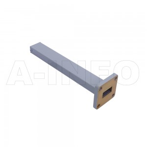 62WMPL15 WR62 Waveguide Low-Medium Power Load 12.4-18GHz with Rectangular Waveguide Interface
