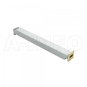 62WPFA-50 WR62 Waveguide Low Power Precision Fixed Attenuator 12.4-18GHz with Two Rectangular Waveguide Interfaces