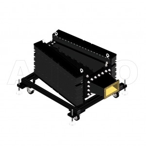 650WHPL5500_DM WR650 Waveguide High Power Load 1.12-1.7GHz with Rectangular Waveguide Interface