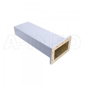 650WMPL80 WR650 Waveguide Low-Medium Power Load 1.12-1.7GHz with Rectangular Waveguide Interface