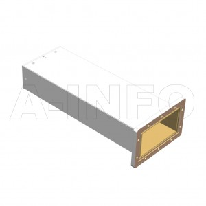 650WPL_DM WR650 Waveguide Precisoin Load 1.12-1.7GHz with Rectangular Waveguide Interface