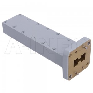 750DRWLPL WRD750 Double Ridge Waveguide Low Power Load 7.5-18GHz with Rectangular Waveguide Interface