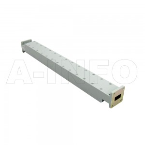 75WPFA-3 WR75 Waveguide Low Power Precision Fixed Attenuator 10-15GHz with Two Rectangular Waveguide Interfaces