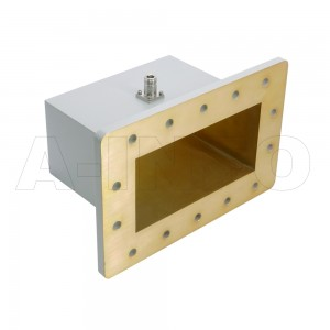 770WCAN Right Angle Rectangular Waveguide to Coaxial Adapter 0.96-1.45GHz WR770 to N Type Female