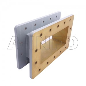 770WSPA14 WR770 Wavelength 1/4 Spacer(Shim) 0.96-1.45GHz with Rectangular Waveguide Interfaces