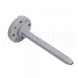 8EWG Open Ended Waveguide Probe 90-140GHz 6dB Gain Rectangular Waveguide Interface