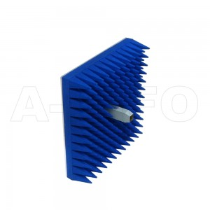 90EWGNE-T02-A1 Dual Polarization Waveguide Probes 8.2-12.4GHz 8dB Gain N Type Female Equipped with Absorber