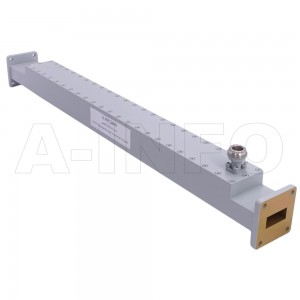 90WCN-50 WR90 Waveguide High Directional Coupler WCx-XX Type 8.2-12.4GHz 50dB Coupling N Type Female