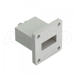 90WECAS Endlaunch Rectangular Waveguide to Coaxial Adapter 8.2-12.4GHz WR90 to SMA Female