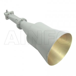 LB-CNH-137-20-C-TF Linear Polarization Conical Horn Antenna 5.85-8.2GHz 20dB Gain TNC Female