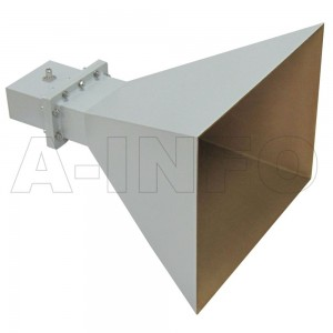 LB-OH-650-15-C-NF Octave Horn Antenna 1-2GHz 15dB Gain N Type Female