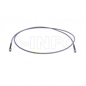 SM-SM-A050-2000 Flexible Cable Assembly 2000mm DC- 26.5GHz SMA Male to SMA Male